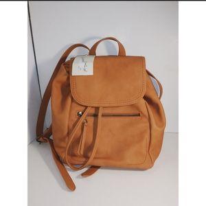 🆕 Universal Thread Mini Backpack Brown Handbag